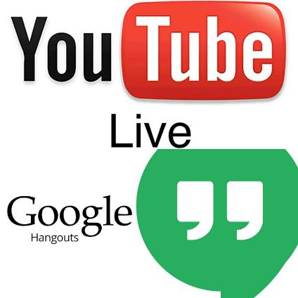 YouTube and Google Hangouts
